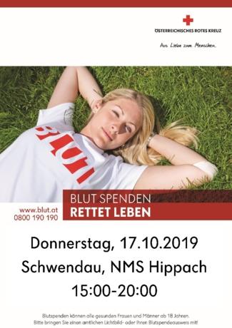 Blutspendeaktion am 17.10.2019