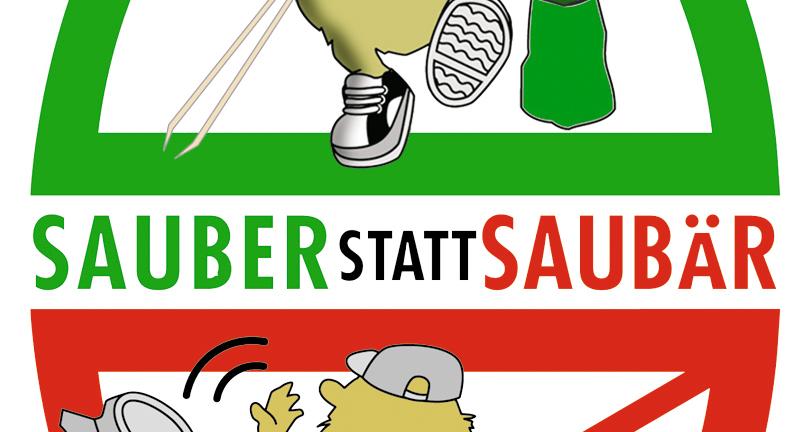 Flurreinigungsaktion - SAUBER statt SAUBÄR