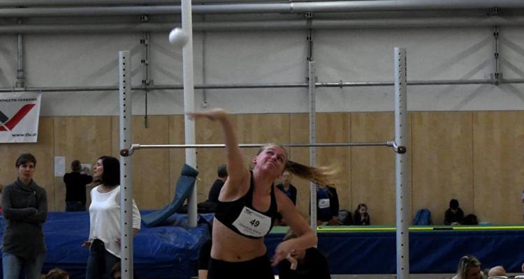 Neuer österreichischer U20-Hallenrekord im Kugelstoßen durch Andrea Obetzhofer