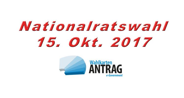NRW 2017 - Antrag auf Ausstellung einer Wahlkarte