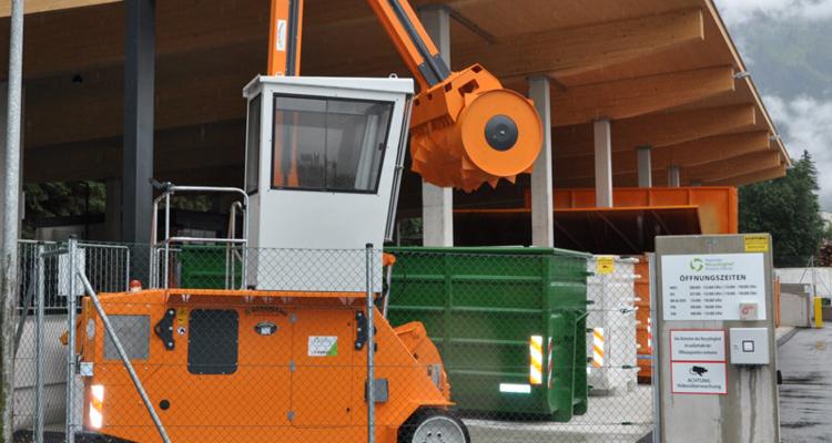 Regionaler Recyclinghof Hinteres Zillertal - Asphaltierungsarbeiten