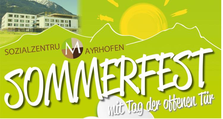 SOMMERFEST - Sozialzentrum Mayrhofen