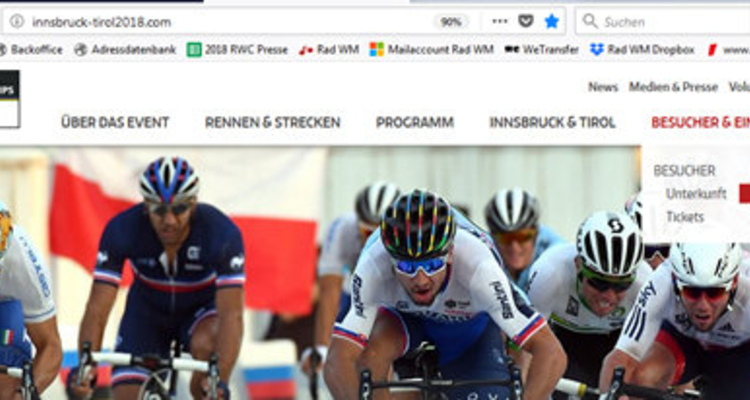 UCI Straßenrad WM 2018 - Rahmensperrzeiten