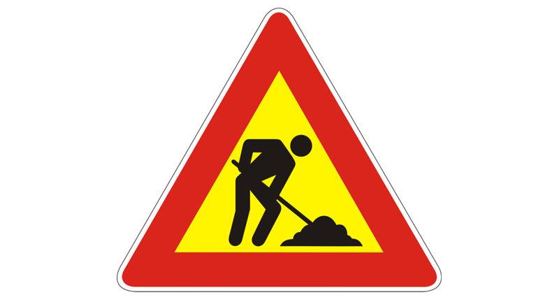 Verkehrsbehinderungen bzw. Straßensperre in Bichl - Bereich Objekt Reichegger