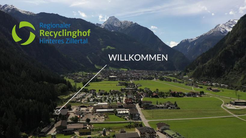 Vido Recyclinghof Mayrhofen