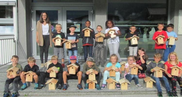 Volgelschutzprojekt 2018 - Volksschule Ramsau im Zillertal