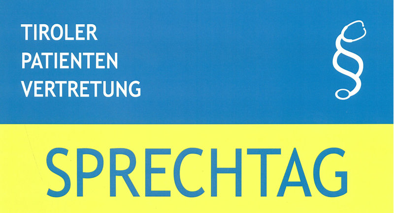 Sprechtag Tiroler Patientenvertretung